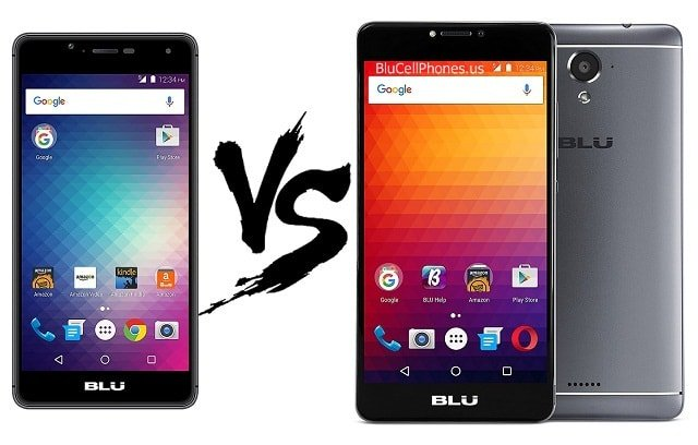 Blu R1 HD vs Blu R1 Plus comparison