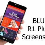 How to take Blu R1 Plus Screenshot
