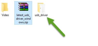 Extract USB Driver Computer