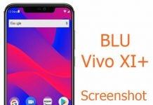 Screenshot on BLU Vivo XI+
