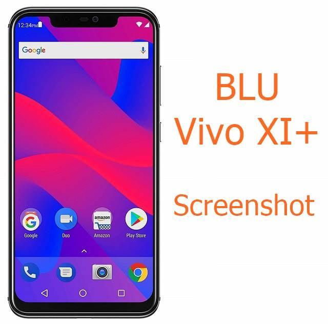 Screenshot on BLU Vivo XI+