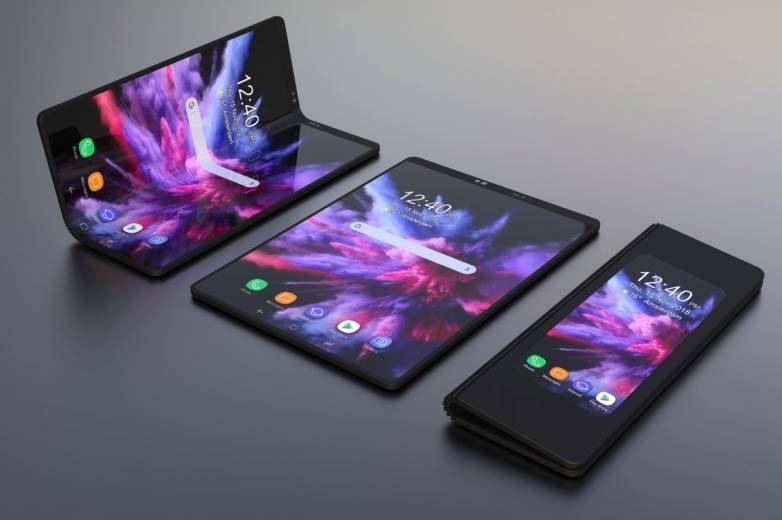 BLU Foldable phone