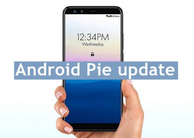 BLU Vivo XL4 Android Pie update