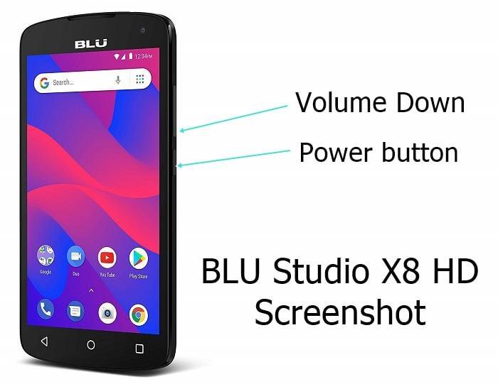 BLU Studio X8 HD screenshot