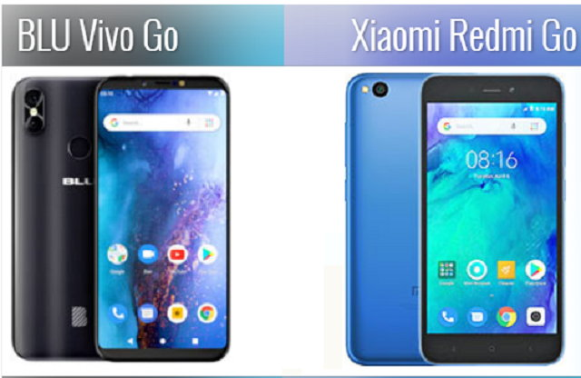 BLU Vivo Go vs Xiaomi Redmi Go