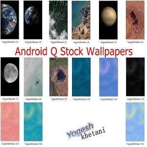 Download Android Q Wallpapers Stock, Ringtones, Alarm Tones, Notification Sounds, Boot Animation
