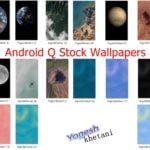 Android Q Stock wallpapers
