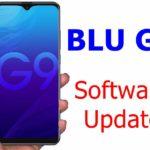 BLU G9 phone software update