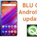 BLU G9 Android Q update